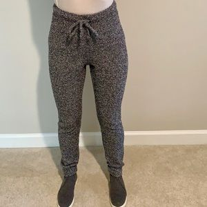 Express Fuzzy High Waisted Lounge Pants Size XS